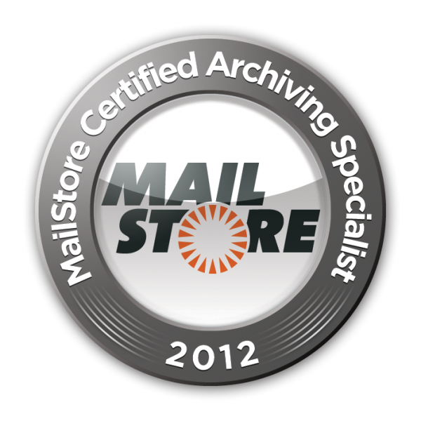 MailStore Certified Archiving Specialist 2012